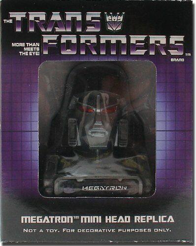 mejor vendido Transformers Megatron Mini Cabeza Réplica Nueva Nueva Nueva  marca