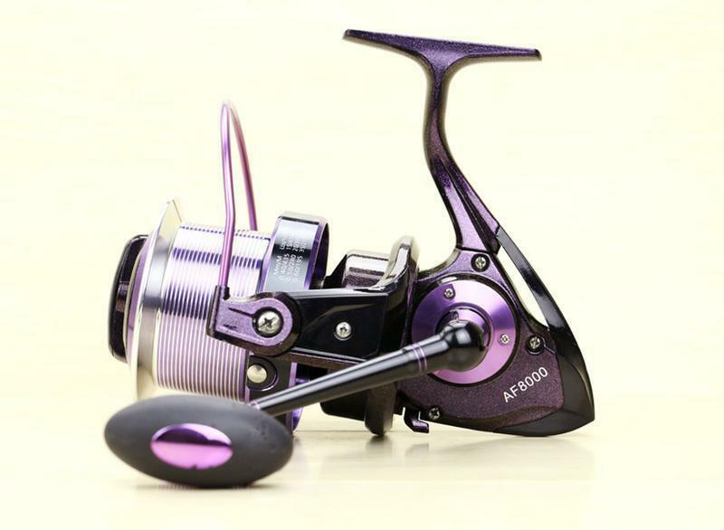 13BB AF8000 Right and Left Hand Spinning Fishing Reel Sea Long shot Fishing Reel