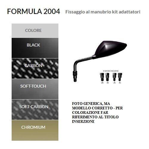 Coppia specchietti ORION universali nero FORMULA 2004 HONDA HORNET 600