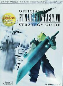 Final Fantasy VII [7] - Lösungsbuch/Strategy Guide [Brady Games] | NEU