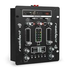 Dj Mixer USB SD Bluetooth Amplifier Hi Fi Power 2x 50 W Microphone In Headphone
