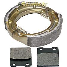 FRONT BRAKE PADS & REAR SHOES Fits SUZUKI VS800 VS800GL Intruder 800 1992-2009