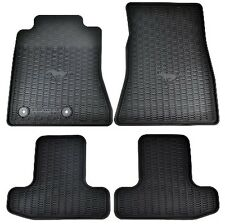 15 thru 17 Mustang OEM Genuine Ford Parts Black Rubber Floor Mat Set 4-pc