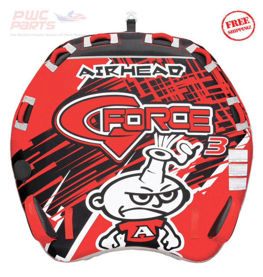 AIRHEAD G-FORCE Performance Tube Towable Up to 3 People Ride AHGF-3
