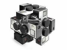 Stereoscopic 3d 360 ° Spherical panorama Mount f.12x GoPro Hero 3-4 VR virtual R.