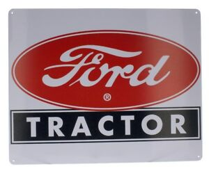 Ford Farm Tractor..1903 To 1953 Ford Farming Less Work`Metal Sign,New`Free To US