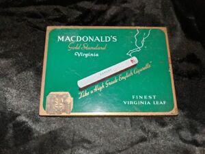 Macdonald-s-Export-Gold-Standard-Virnginia-50-Cigarette-Tin-Vintage