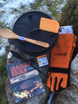 Grillzubehör Camping & Outdoor Petromax Dutch Oven Das Grosse Startset Ft1-ft18 Zur Auswahl Und Ein Langes Leben Haben.