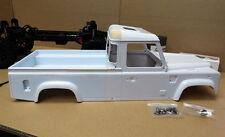 ** 334mm ** 1/10 Land Rover Defender D110 Single Cab PickUp body Shell  NIB
