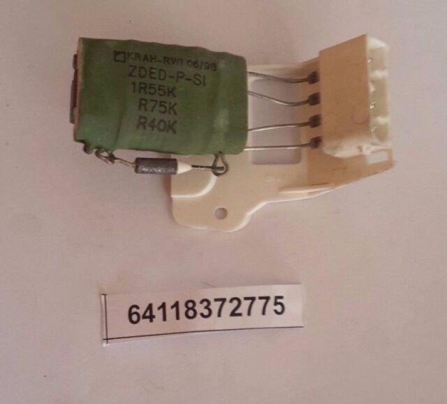 For BMW E36 318ti E46 323Ci 328Ci Coupe Blower Resistor Genuine 64118372775