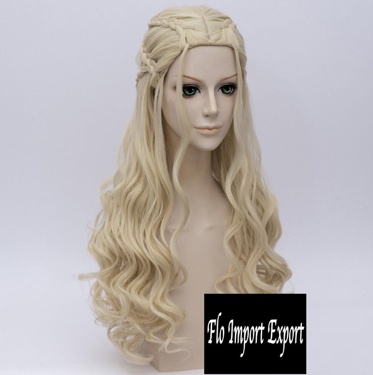 Reine Dragons Perruque Tipo Daenerys Cosplay Cosplay Cosplay Game Trône 7 Season GTHWIG3 T 846c20