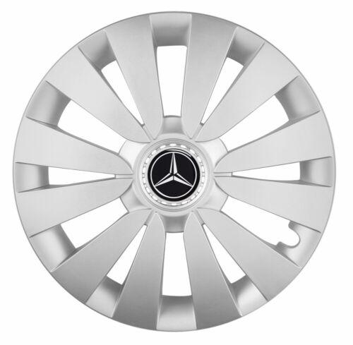 """4x15/"""" Enjoliveurs Enjoliveurs de roues pour MERCEDES CITAN 15/"""" Argent"""