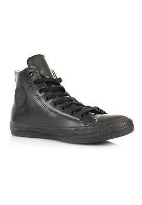 Juniors Converse CT All Star Hi Top Basket En Cuir Noir 344740 C UK 1.5 EU 33.5 | eBay