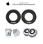 2-x-Apple-PowerMac-G4-Cube-M7963-USB-Speakers-suspension-surround-replacement thumbnail 1
