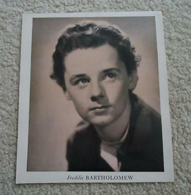 FREDDIE-BARTHOLOMEW-8x10-Black-amp-White-Photo-Picture-from-the-1940-039-s