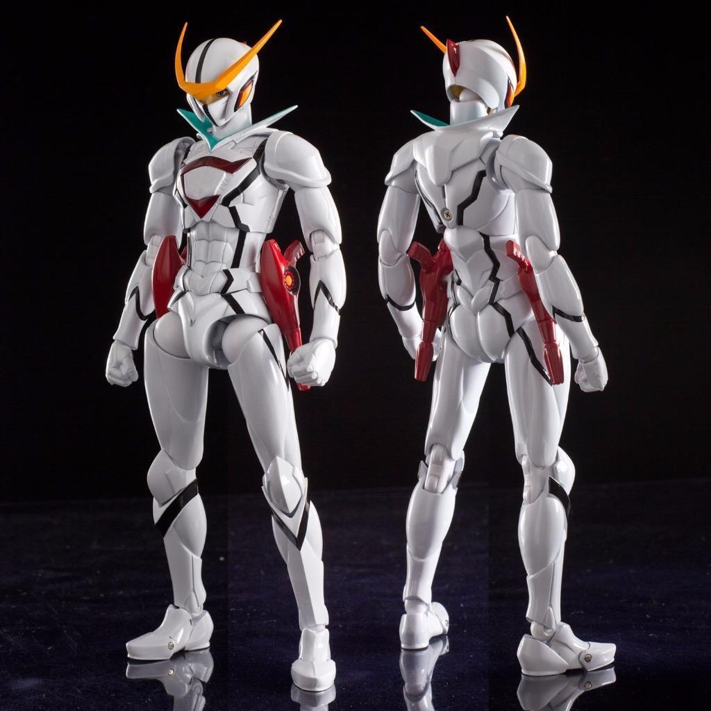 Tatsunoko helden kämpfen ausrüstung casshan 1   10 actionfigur sentinel