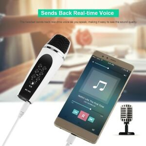 Details about 3 5mm 4 Modes Voice Changer Microphone for iPhone Cellphone  Samsung Android PC
