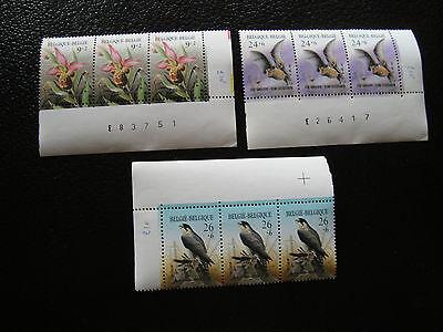 2244 A 2246 X3 N z8 Belgien Briefmarke Yvert Und Tellier Nr