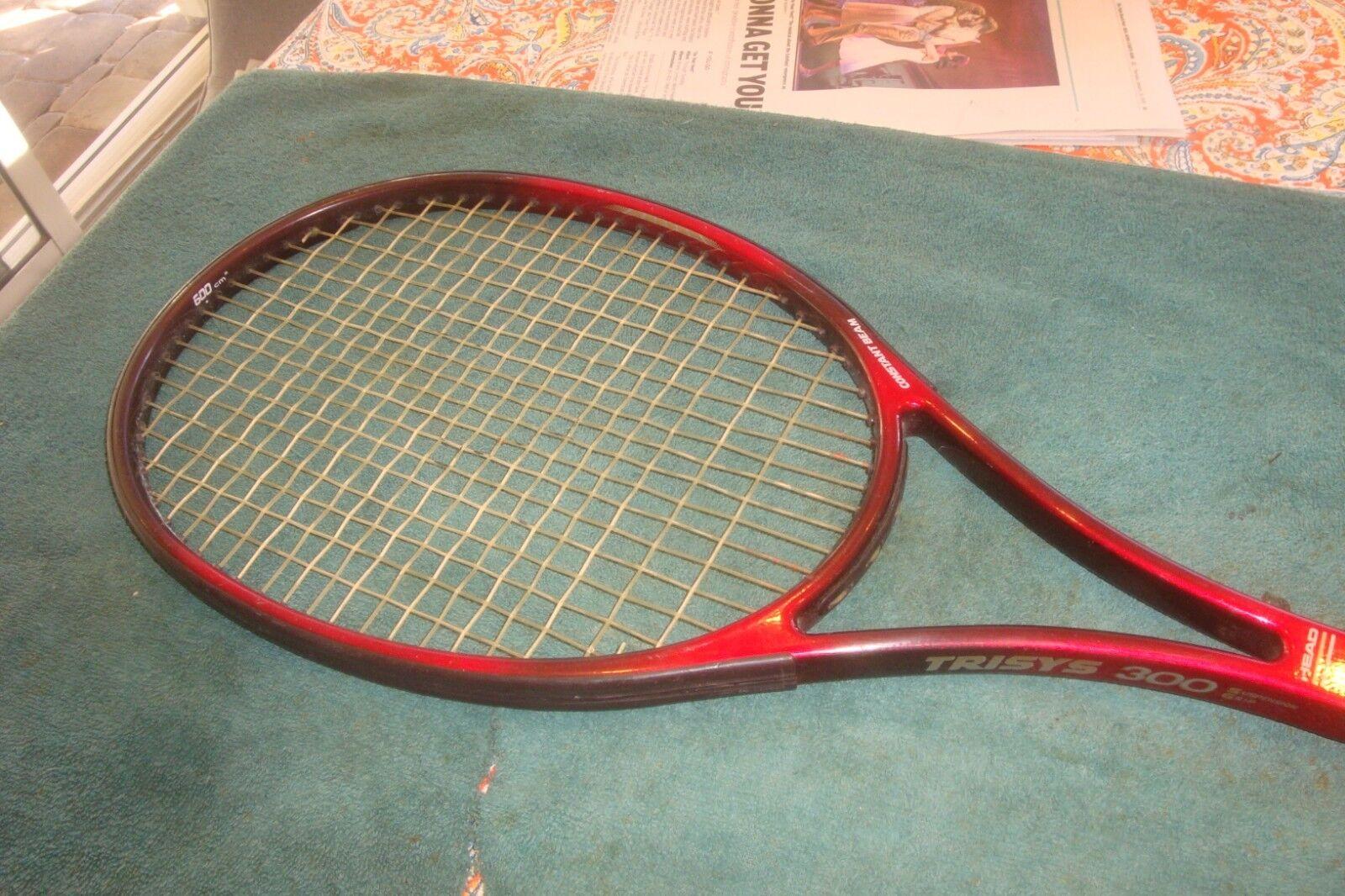 Head Trisys Prestige 300  Tennis Racquet 600 cm2 4 3 8  Grip made Austria