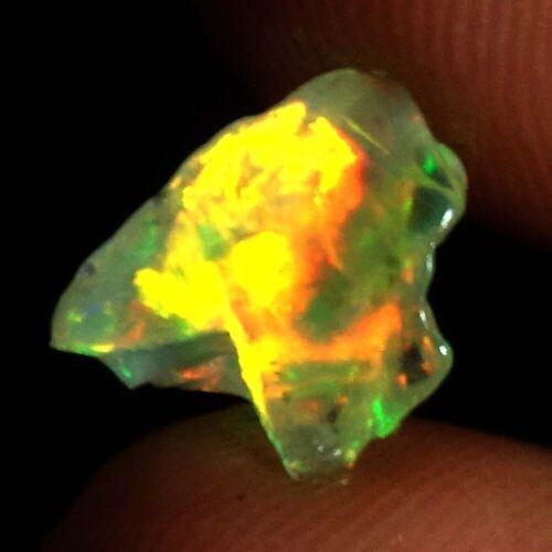 Natural Ethiopian Opal Rough Jumbo Fire Untreated Loose Gemstone TC58-DC28