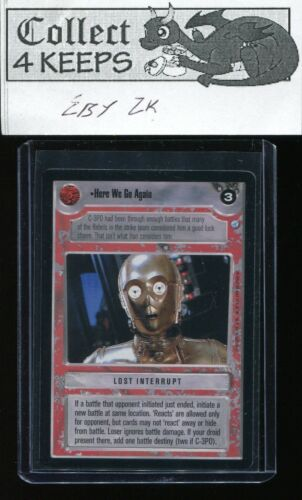 Here We Go Again SWCCG Star Wars CCG Endor