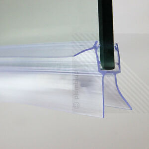 Bath shower screen door seal strip glass thickness 4mm for Door gap filler