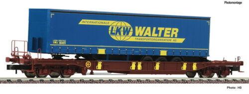 FLEISCHMANN N 825051 Taschenwagen T3 LKW Walter Auflieger Epoche VI NEU OVP