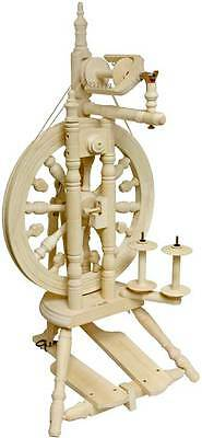 Kromski Minstrel Unfinished Spinning Wheel Special Bonus FREE Shipping