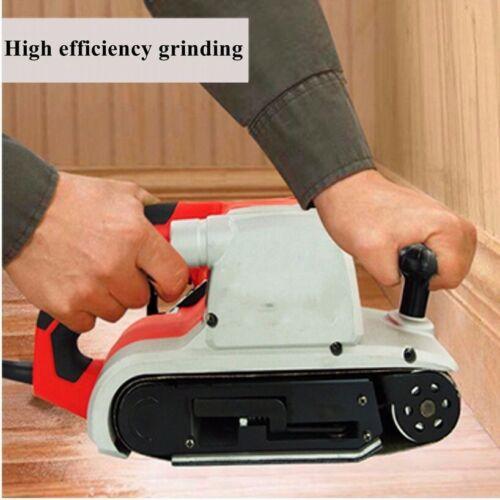 "75x457mm 3/""x18/"" Sanding Belts 40-1000 Grit For Wood Metal Grinding Sander Tool"