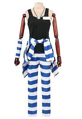 Nanbaka Uno 1311 cosplay costume with hat CS