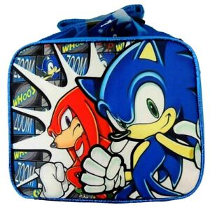 Sonic The Hedgehog Knuckles Whoos Zoom 9 5 Insulted Lunch Bag Lunchbox New Ebay