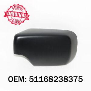 c t gauche couverture de r troviseur cot noir bo tier pour bmw s rie 3 e46 ebay. Black Bedroom Furniture Sets. Home Design Ideas