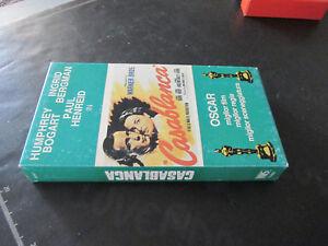 film VHS CASABLANCA Humphrey Bogart Ingrid Bergman Paul Hendrei no dvd