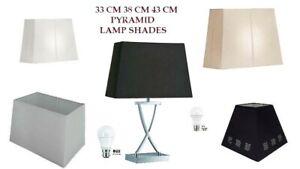 12 13 15 17 Lamp Shade White Cream
