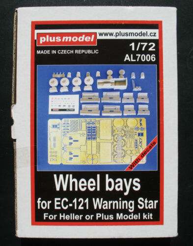 Plusmodel AL7006 Wheels Bays for EC-121 Warning Star Heller Kit 1:72 Resin Set