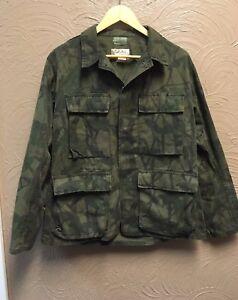 ef41acaf1481e Vintage Cabela's Mirage Camo Camco coat shirt combat jacket Men's ...