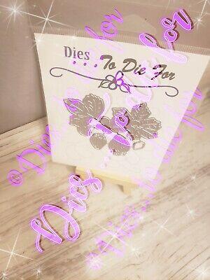 Dies .. to die for metal cutting craft die  Swirly Tree 4 pc Limited edition