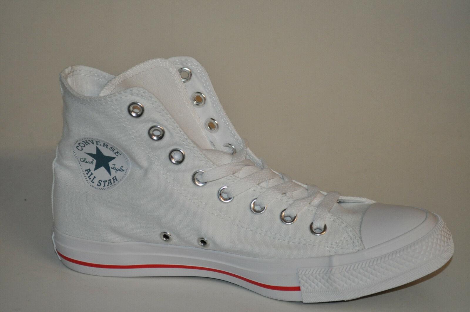 Converse ALL STAR HI 164683C White Celestial Teal Fiery Red white All Star Chucks