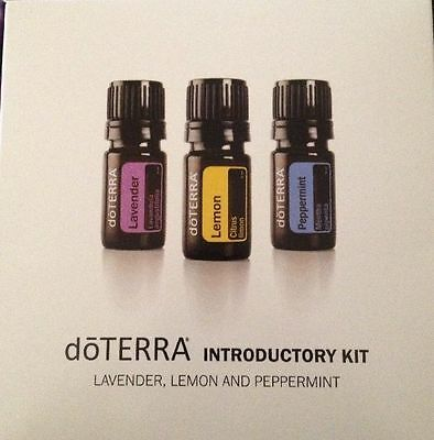 NEW DOTERRA INTRODUCTORY ESSENTIAL OIL KIT- NEW SEALED +2 FREE BONUS ~FREE SHIP