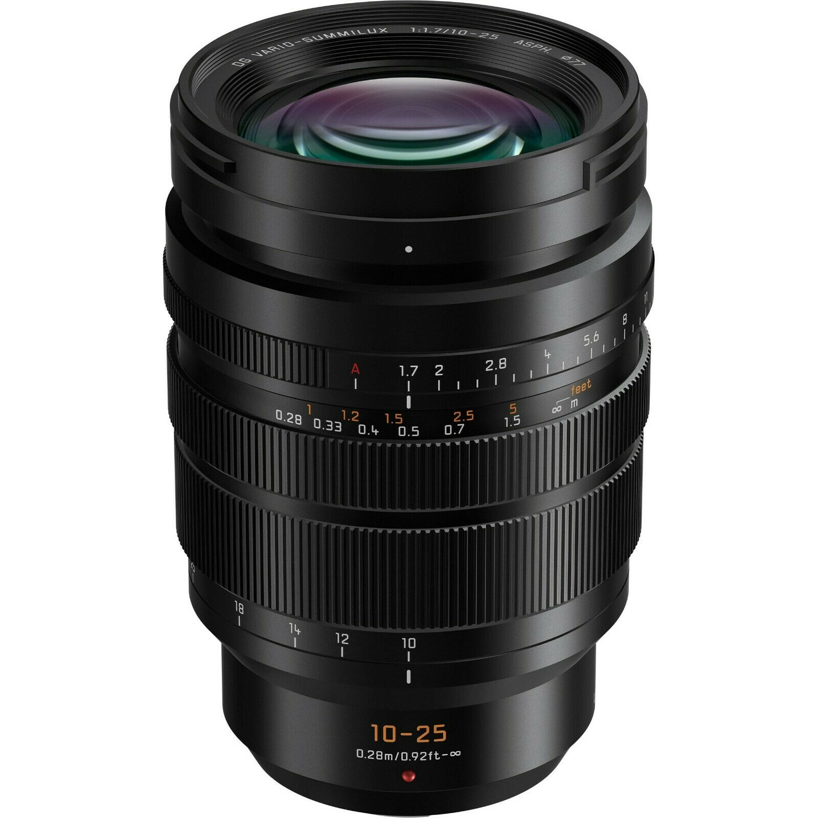 Panasonic Leica Dg Vario Summilux 10 25mm F 1 7 Asph Zoom Camera Lens Micro Four Thirds For Sale Online Ebay