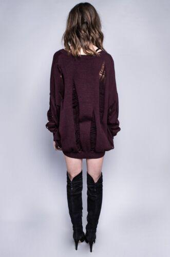 Lip Service  WIDOW NEW Project X Drop Needle Oversized Sweater