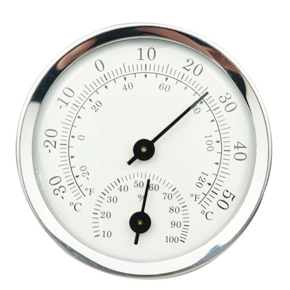 Indoor Outdoor Thermometer Hygrometer Temperature Humidity Wall Mounted Tools