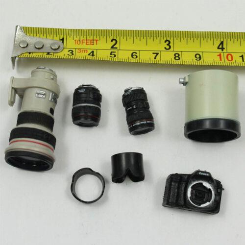 """SCALA 1//6 CERCHIO ROSSO Single Lens Reflex modello con 3 Lente per 12/"""" Action Figure Toys"""