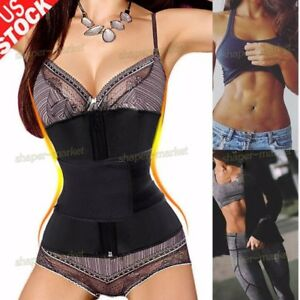 6608b817627 Image is loading Waist-Trainer-Corset-Cincher-Women-Body-Slimmer-Tummy-