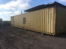 Used 40 Dry Van Steel Storage Container Shipping Cargo Conex Seabox Minneapolis