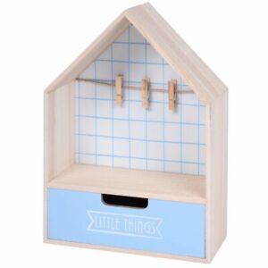 Mini-Kommode-mit-Schublade-und-Fotoaufhaenger-28-x-20-cm-hellblau-Home-Styling
