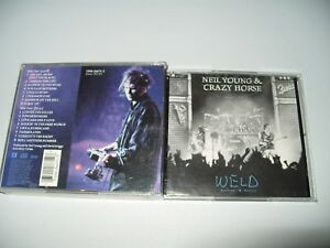 Neil-Young-Weld-Live-Recording-1991-2-cd-Booklet-fatbox-no-front-inlay