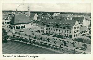 Ansichtskarte Freudenstadt Schwarzwald Marktplatz  (Nr.9164)