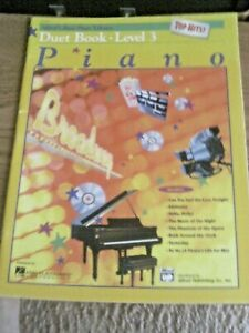 Details about Alfred's Basic Piano Library Duet Top Hits Book Level 3 Course