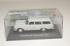 . ALTAYA IXO DEAGOSTINI MERCEDES BENZ 230S BREAK UNIVERSAL 1967 GREY MINT BOXED